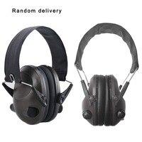 Tático militar tiro earmuff redução de ruído fone de ouvido tático tiro fone de ouvido anti-ruído esportes caça protetor de orelha