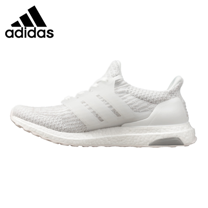 Adidas Ultra Boost 3.0 Men's and Women's Running Shoes,Outdoor Sneakers Shoes, White, Breathable Non-slip BA8841 EUR Size U