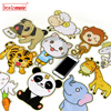Iron Commander 4 Pieces Animated Cartoon Puzzle Paper Children Baby Toys Gifts Animals Cat Dog Lion