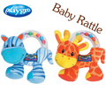 Baby Toy Baby Rattles & Mobiles playgro toys baby toys 0-12 months soft plush 12.5cm baby toys educational hot sale high quality