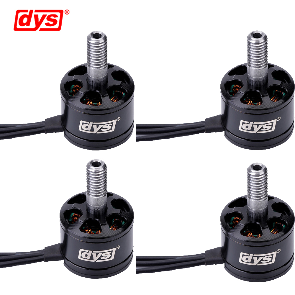 4pcs/lot DYS SE1407 Race Edition 3500KV Brushless Motor For FPV Racing For RC Camera Drone Multicopter Accessories(2CW+2CCW) lhi fpv 4x mt2206 2300kv cw ccw fpv brushless motor 2 4s 4 pcs racerstar rs20a lite 20a blheli s bb1 2 4s brushless esc