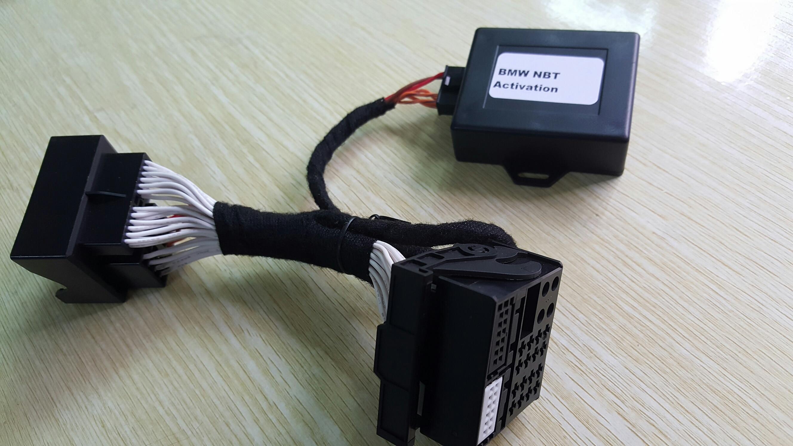 ل BMW EVO (NBT2) TV فيديو مجاني في الحركة محول واجهة ل F20/F30/F15/G11/G30-في كابلات و موصلات بطاريات من السيارات والدراجات النارية على remoteexpert locksmith Store