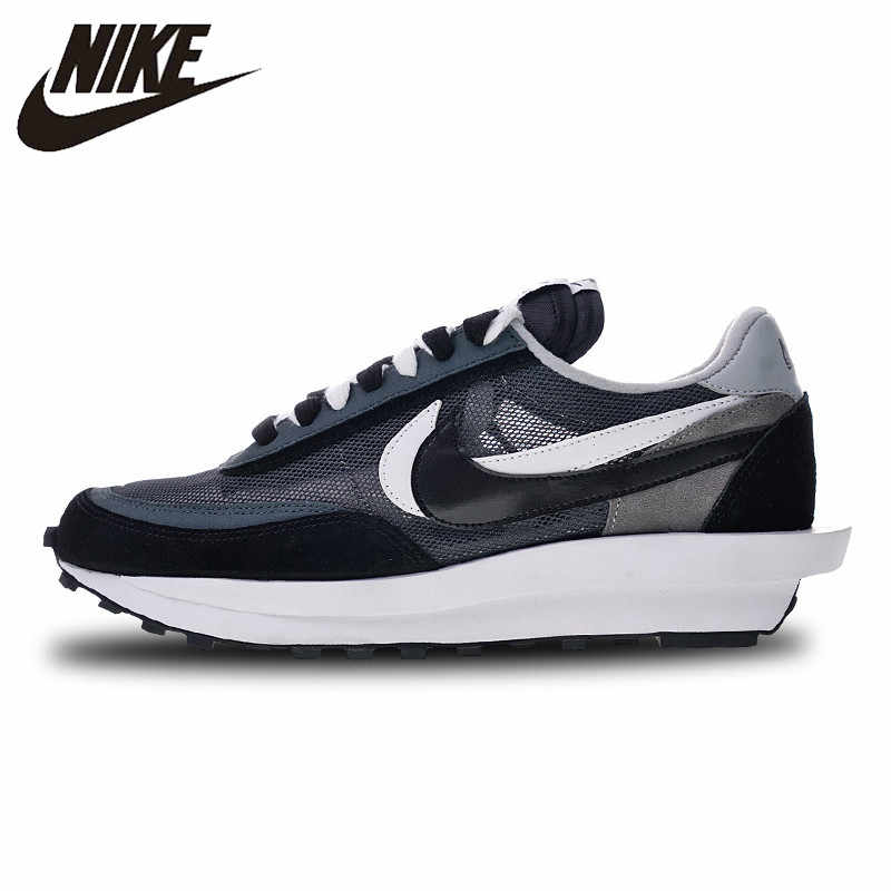 watch 59247 f05a0 SACAI X NIKE LDV Waffle Running Shoes Sneakers Sports Outdoor 884691-195  for Men 40