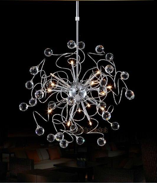 Floral K9 Kristall Anhänger Lampe Mit G4 Lichter Lüster Hängen Anhänger Licht Kristall Suspension Hängen Licht