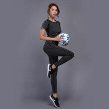 GXQIL Le Donne Tuta Abbigliamento Sportivo Donna Vestito di Sport Palestra  di Yoga Set di Fitness 2e503e9240c