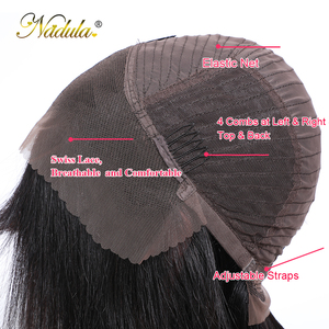 Image 5 - Nadula Hair 13*4 Lace Front Wig Short Human Hair Wig 8 14inch Straight Bob Wig For Women Brazilian Remy Hair Natural Color