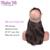 8A 360 Laço Frontal Com Pacote Reta Brasileira Do Laço Do Cabelo Fechamento Frontal Com Feixes de Cabelo Humano Do Laço Frontal Com O Bebê cabelo