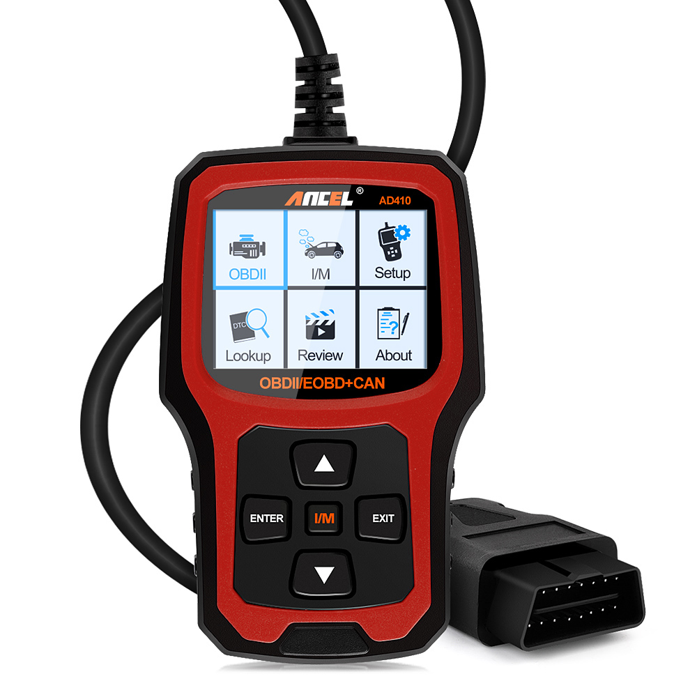 Prix pour NOUVEAU OBD2 Scanner Code de Défaut Lecteur D'origine Universel ancel ad410 auto diagnostic scanner Outils odb2 obd2 scanner de voiture