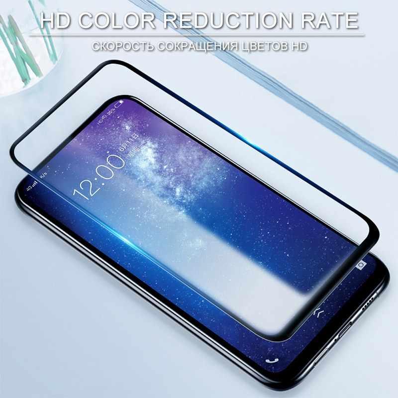 Твердость 9 H ультра тонкий полный экран закаленное стекло для Vivo y81 стекло для Vivo nex s Защитная пленка закаленное стекло экрана