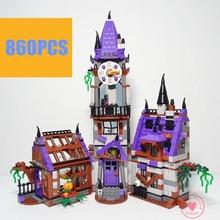 BELA 10432 Compatible Scooby Doo Figures Mystery Mansion 75904 Building Bricks Educational Toys For Children kid gift birthday  цена в Москве и Питере