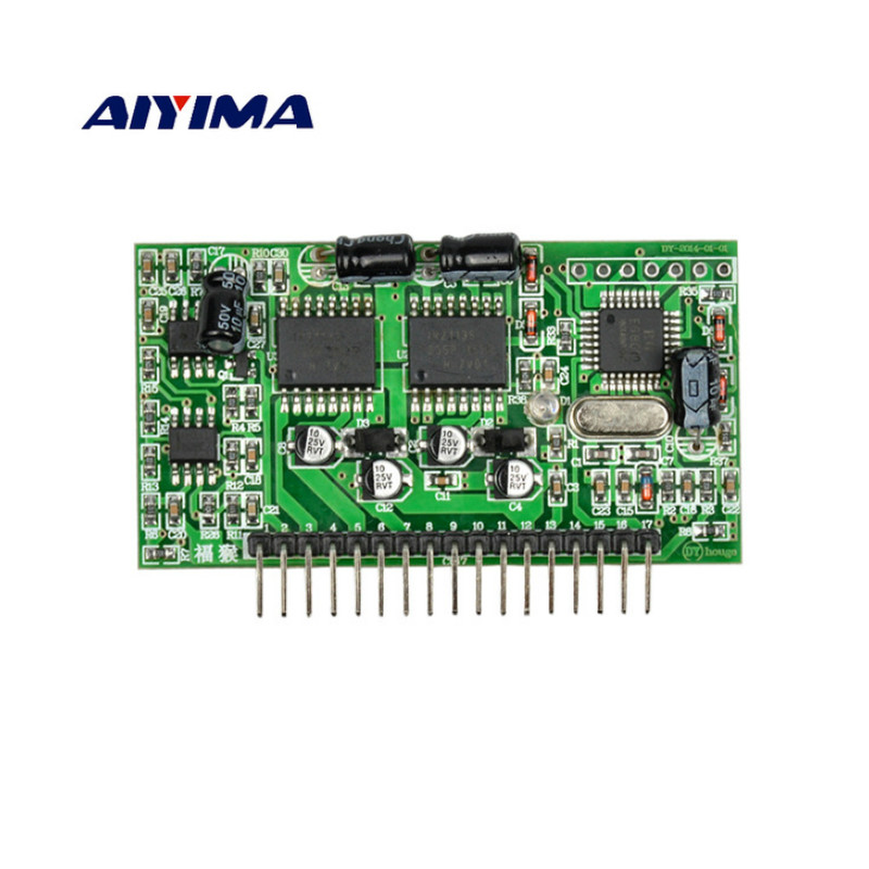 Aiyima 1Pc Pure Sine Wave Inverter Driver Board DY002 EG8010+IR2110 Sine Wave Driver Module цена