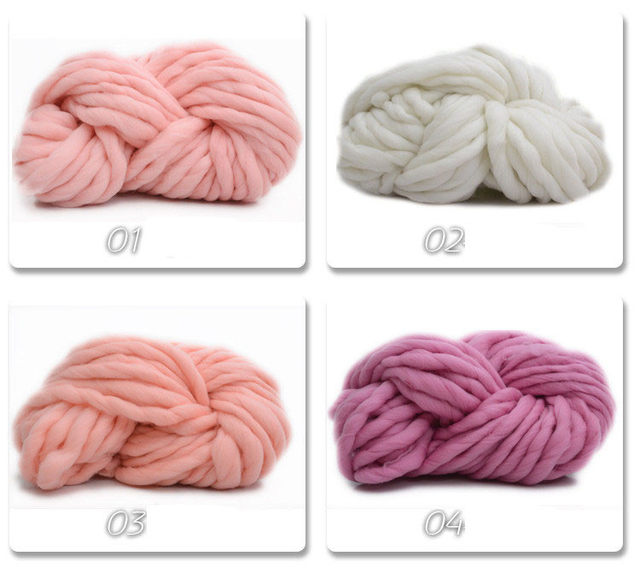Tienda Online Venta caliente Super gruesa lana hilo grueso ...