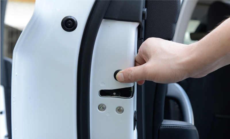 12 шт. Автомобильный Дверной замок винтовая защита крышка аксессуары для Jeep Wrangler JK TJ YJ Grand Cherokee WJ XJ Renegade Compass sport 2 3