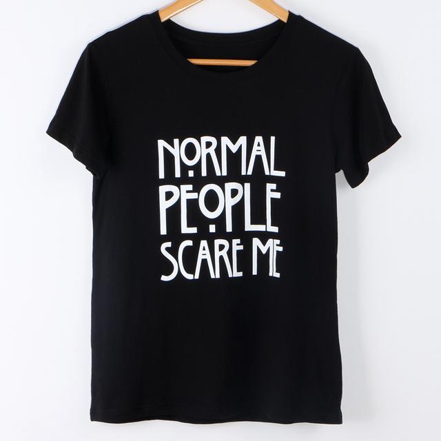 2017 T-Shirt Women Tops Punk Style