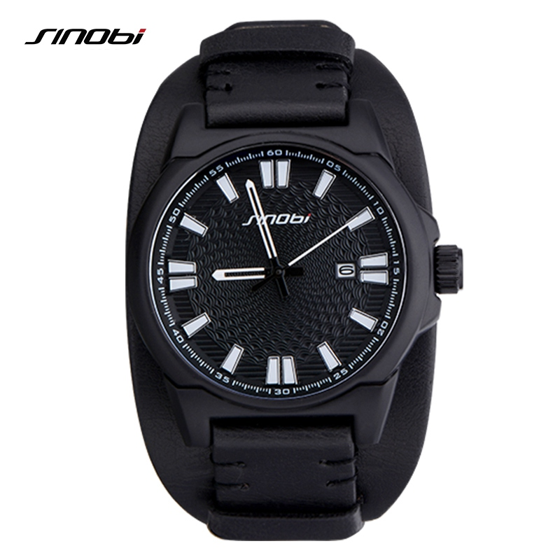 Sinobi Mens Military Watches Waterproof Sport Wrist Watch Men Clock Luxury Brand Casual Watches xfcs reloj deportivo hombre 2018