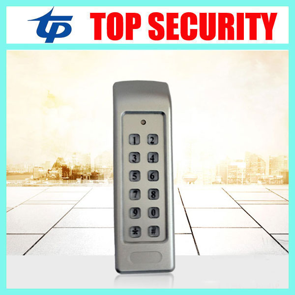 New arrival good looking RFID card and password access control standalone access controller with keypad door access control metal rfid em card reader ip68 waterproof metal standalone door lock access control system with keypad 2000 card users capacity