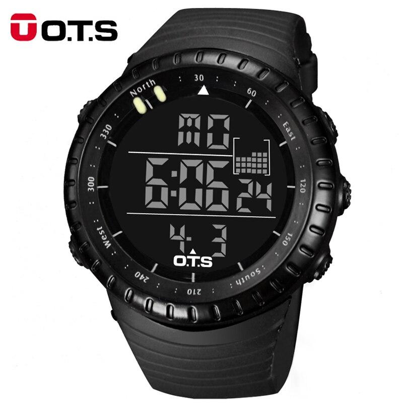 ФОТО New 2017 Sport Watch Men Top Brand Luxury Famous Digital LED Wrist watch Male Clock Electronic For Men Hodinky Relogio Masculino