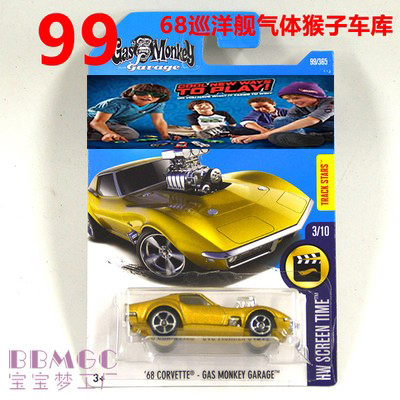 New Arrivals 2017 Hot Wheels MONKEY GARAGE Wheels Models Metal Diecast Car Collection Kids Toys Vehicle For Children Juguetes