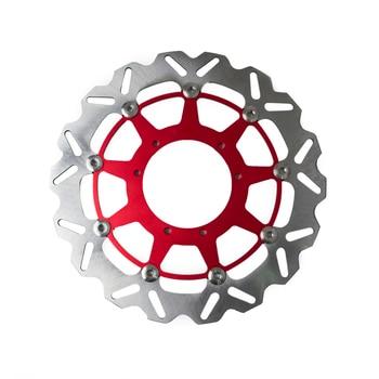 Motorcycle 320mm Front Brake Disc Rotor For Honda CR125E CR125R CR250R CRF250R CRF250X CRF450R CRF450X CR500E CR500R SUPERMOTARD