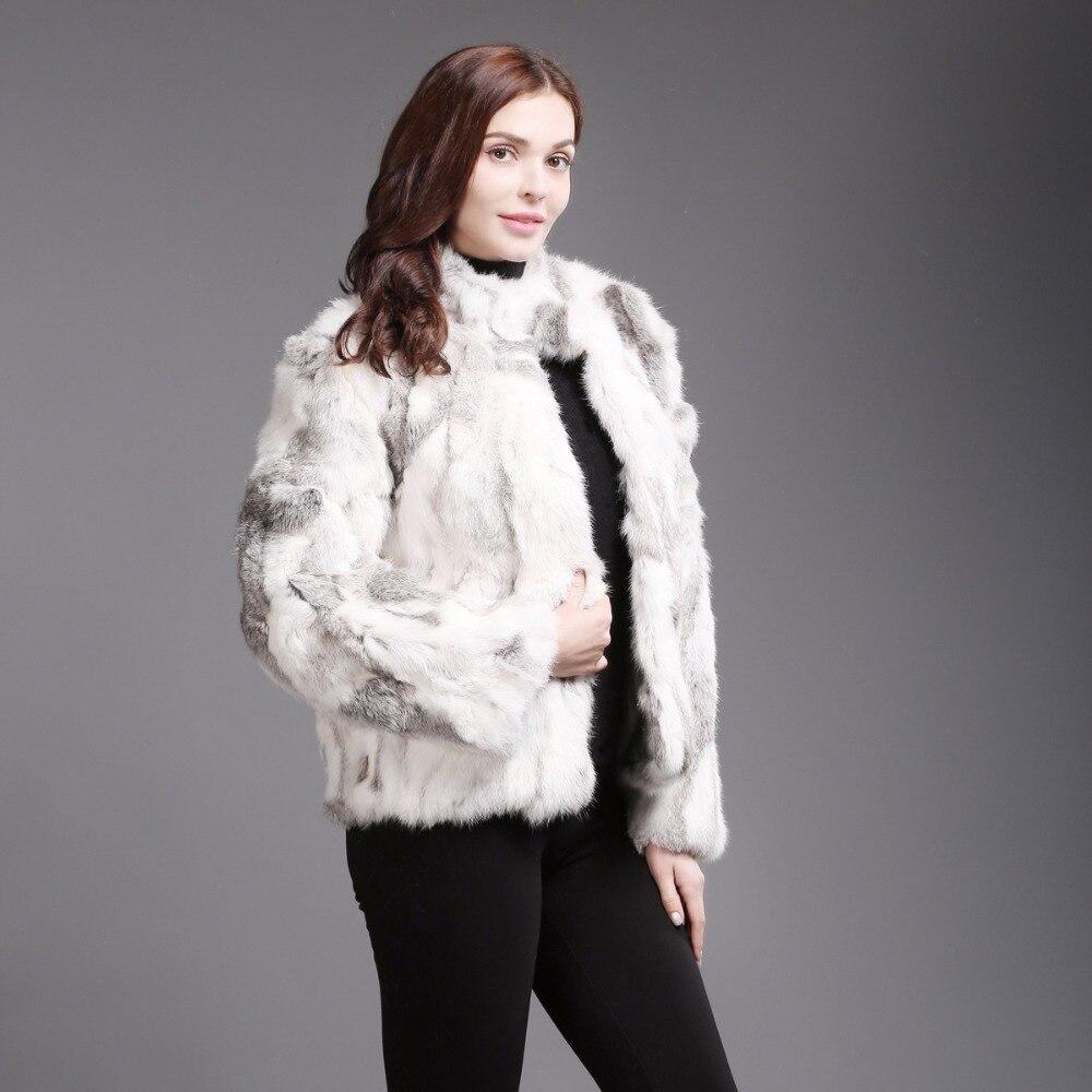 Dames Veste 2018 Réel Chaude Grey Vente Mince Survêtement Femmes Nouvelle Mode Manteau De Fourrure Natural Douce D'hiver Et Naturel natural Lapin Yellow OOqw6f