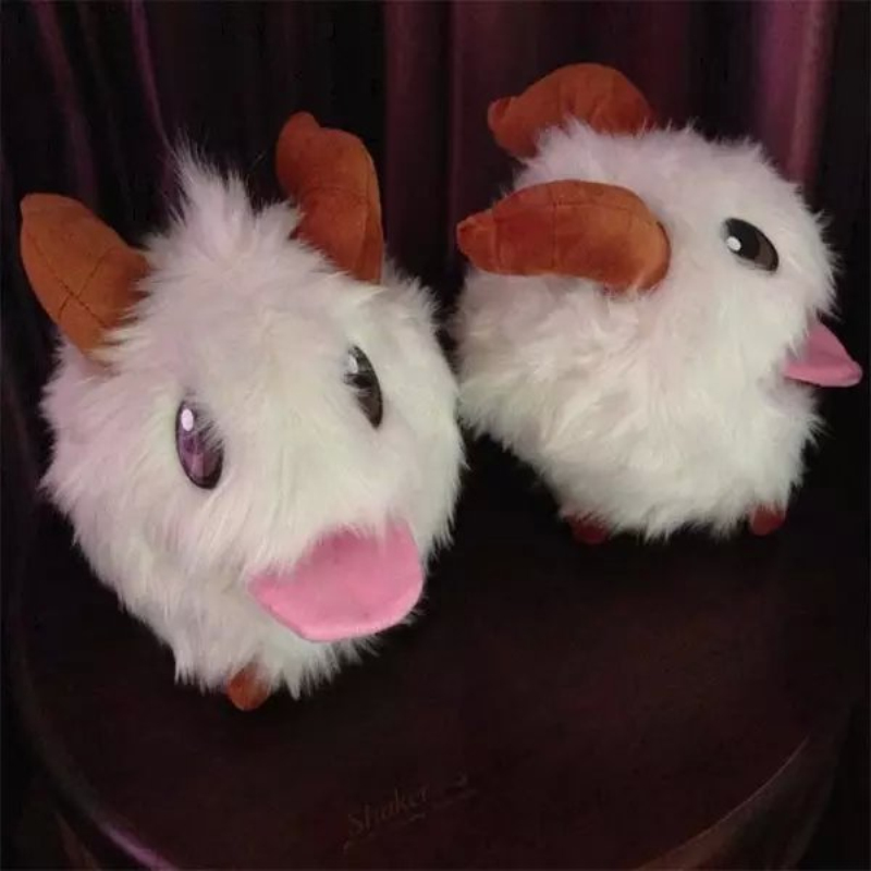 25CM New LOL Poro plush toy Poro Doll Legal Edition High quality SUPER CUTE& SOFT &HIGH QUALITY Kids Toys Gift
