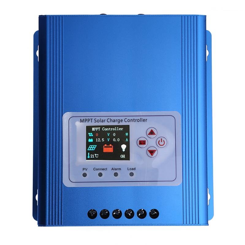 30A 12/24/48V PWM Solar Controller Solar Panel Battery Charge Regulator Charge Battery Protection 30a solar charge controller regulator 15w solar panel 12 24v portable power bank board automatic identification pwn battery