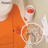 Mini basket-ball panneau D'intérêt Enfants Jouets 3 * de Basket-Ball, 1 * Balle seau, 1 * Rebonds, 1 * Net, 1 * Tapis
