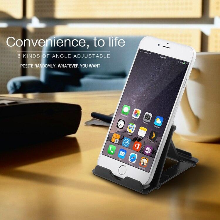 Rocketek Regulowany Składany Telefon komórkowy Tablet Biurko Stojak Uchwyt Smartphone Uchwyt Telefonu komórkowego dla iPad Samsung iPhone 1