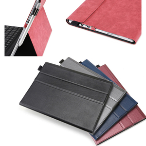 Image 2 - Flip Case for Microsoft Surface Pro 3 Multi Angle Stand Cover Waterproof Soft Shell Compatible with Keyboard for Surface Pro3