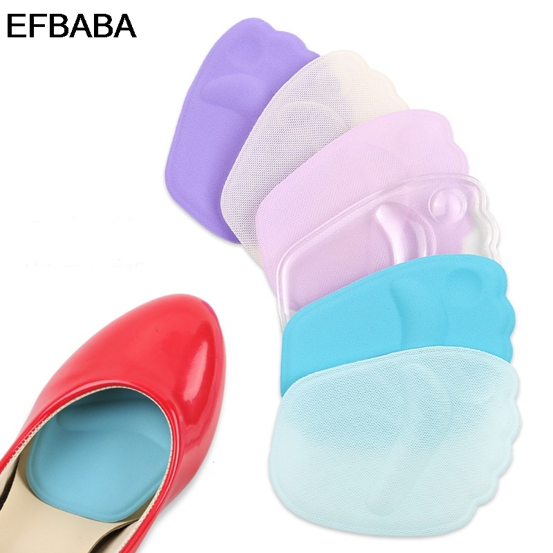 EFBABA High Heel Pad Silicone Insole Forefoot Pads Gel Cushions Transverse Arch Supports Foot Pain Relief Women Shoes Insoles expfoot orthotic arch support shoe pad orthopedic insoles pu insoles for shoes breathable foot pads massage sport insole 045