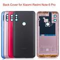 Оригинальный чехол для Xiaomi Redmi Note 6 Pro Global Case  запасные части  Кнопки громкости + объектив камеры