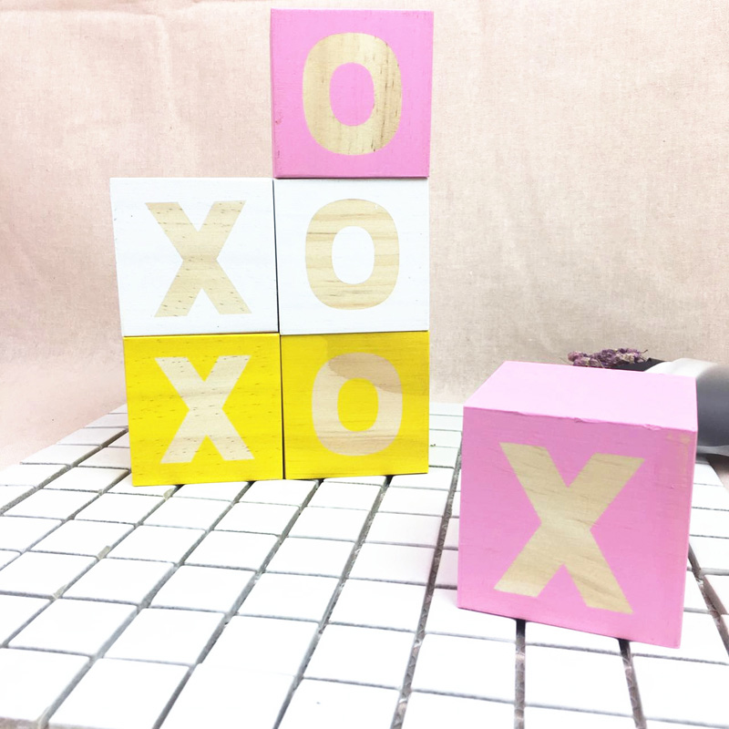 block letters decor