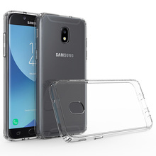 цена на Ultra Thin Clear Case Cover For Samsung Galaxy J3 2018/J3 Eclipse 2/J3 Orbit/J3 Achieve/J3 Amp Express Prime 3/J3 Prime 2/Sol 3