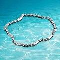 Мужчины серебряная цепочка ожерелье 925 чистого серебра ювелирные изделия ожерелье для мужчин