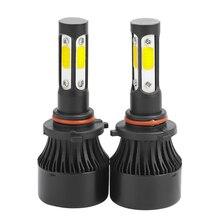 Фар автомобиля мини лампа H8 светодиодный лампы H11 светодиодный H7 комплект фар 9005 HB3 9006 HB4 6500 k туман свет 12 V X7 светодиодный светильник 50 W 10000LM