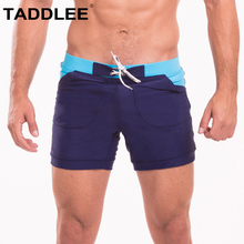 Taddlee Brand Sexy Swimwear Swimsuits Swim Briefs Bikini Men's Surf Board Boxer