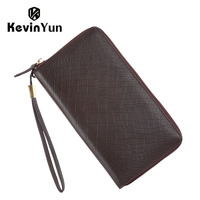 KEVIN YUN Designer Brand Men Clutch Bags Business Casual Genuine Leather Bag Male Handbag Day Clutches