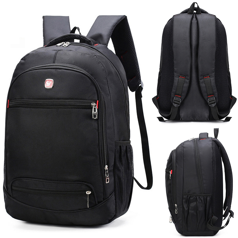 Male 2019 Oxford Business Waterproof School Bag  Schoolbag Men Backpacks For Teenage Back Pack Bag Bookbag Travel Casual Bags