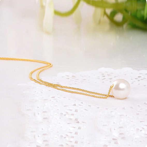 2019 nowy typ Hot sprzedaż marka projekt moda w stylu Vintage elegancki urok proste hojny perła wisiorek naszyjnik łańcuch biżuteria hurtowych