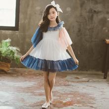 8fd4514146286 686AA 5.16th أزياء فتاة فساتين الأطفال الملابس 100-150 سنتيمتر الأطفال ثوب  جديد وصول