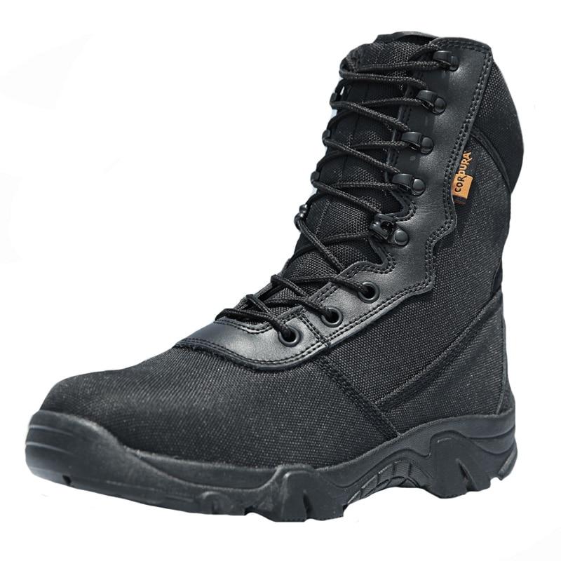 Mâle En Air Voyage Camping Bottes Top D'hiver Désert Tactiques Noir Respirant Chaussures Sport High Armée Randonnée Hommes Plein Evdv8q