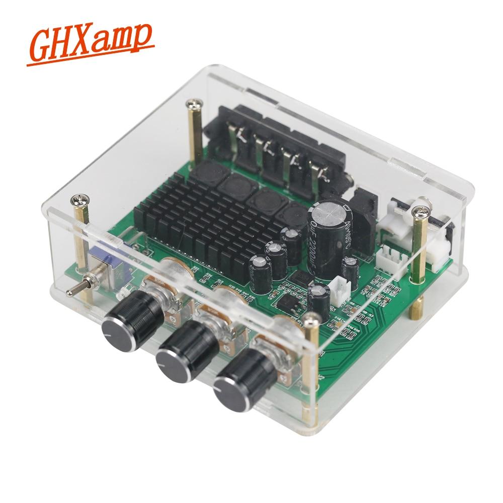 GHXAMP TPA3116D2 80 w * 2 סטריאו מגבר אודיו לוח TPA3116 דיגיטלי מגבר קול מגביר גבוהה כוח DC12-24V 1 pc