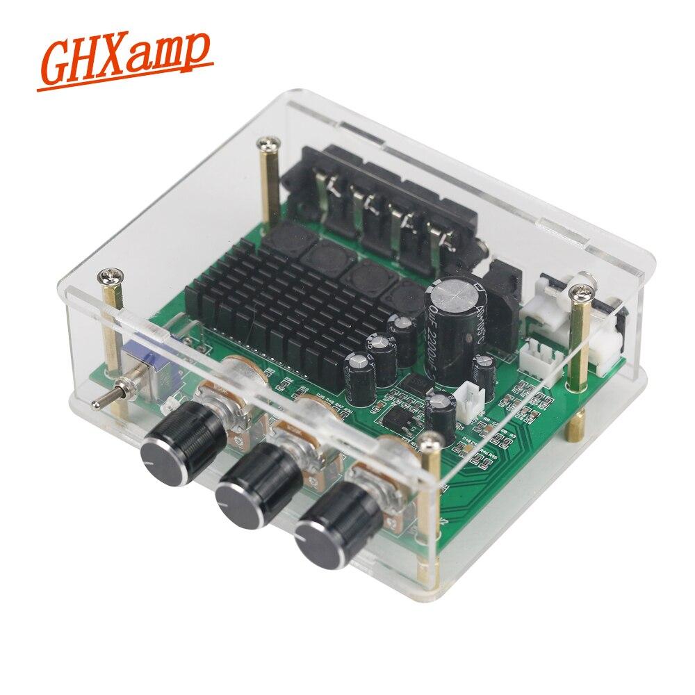 GHXAMP TPA3116D2 80 w * 2 Stereo Amplificatore Audio Consiglio TPA3116 Amplificazione del Suono Digitale Preamplificatore Tono Ad Alta Potenza DC24V AC17V