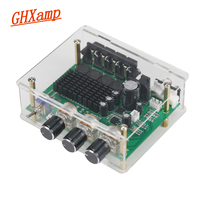 GHXAMP TPA3116D2 80W*2 Stereo Amplifier Audio Board TPA3116 Digital Amplifier Sound Preamplifier Tone High Power DC12-24V 1PC