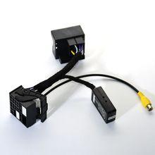 สำหรับMIBสายเคเบิลเครือข่าย6RD035187A /Bสายเชื่อมต่อการแปลงสายLine Decoder PQแพลตฟอร์มใหม่Passat 6.5นิ้ว