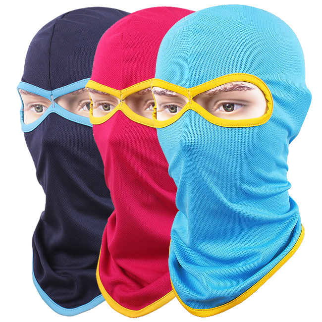 Bulk 100pcs Two-hole Quick Dry Net Mesh Balaclavas Masks Beanies Men Summer Sports Skull Balaclava Mens Beanie Full Face Hats d link dgs 3120 48pc