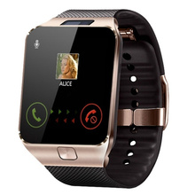 Men s Smart Watch With Camera SIM Card Call Smartwatch For IOS Android font b Phone