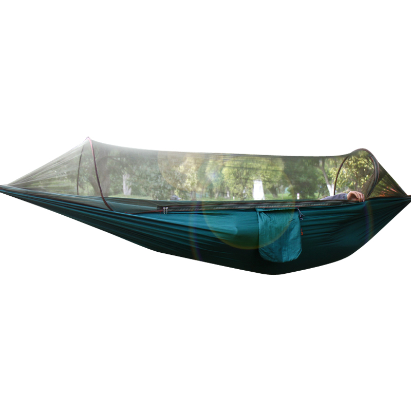 Multifunctional Outdoor Field Double Single Thicker Anti Rollover Mosquito Nets Hammock Portable Park Camping Supplies