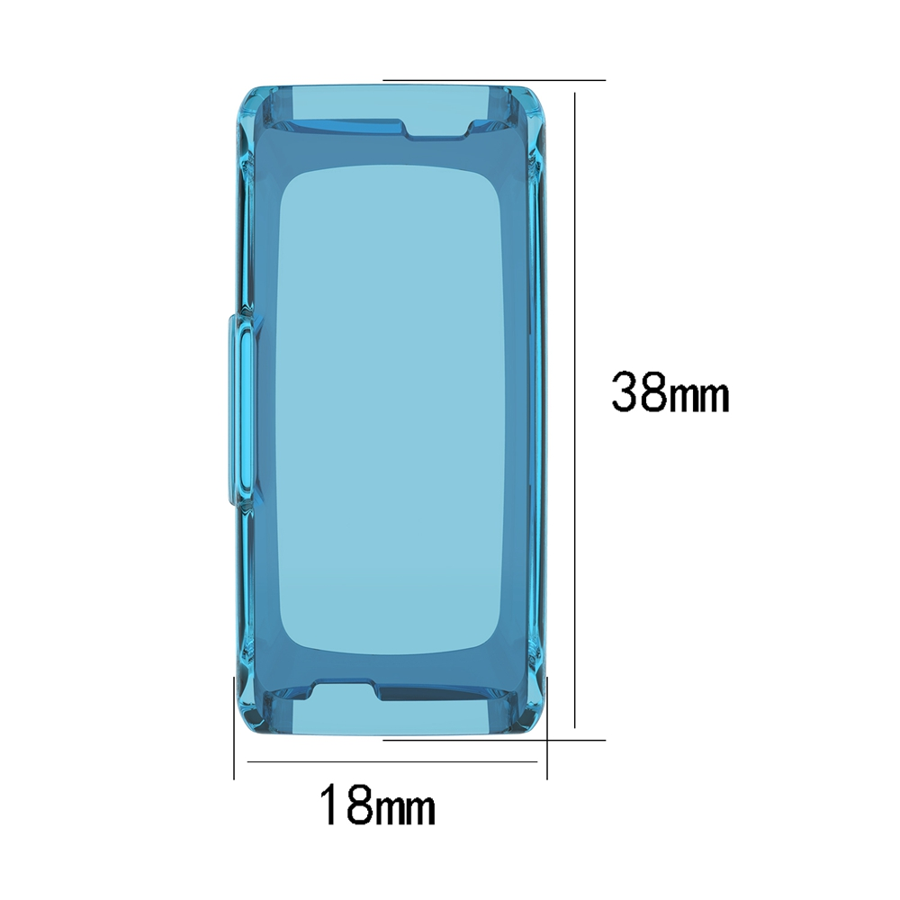 Soft TPU Protective Watch Case Cover Shell For Fitbit Inspire HR Watachband Sporting Replacement Accessories For Fitbit Inspire in Smart Accessories from Consumer Electronics