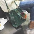Famous brand Personalized big handbags mini Cube Brand original design crossbody bags for women messenger bags Alligator skin